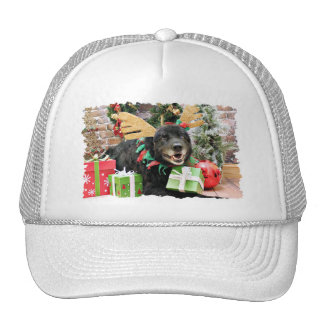Christmas - Mixed Breed - Harry Trucker Hat