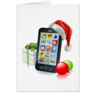 Christmas Mobile Phone Cards