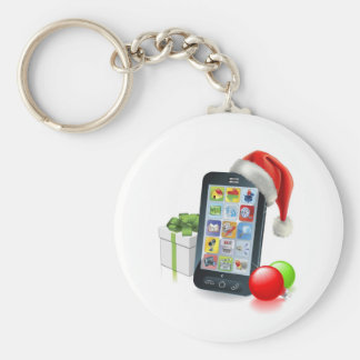 Christmas Mobile Phone Keychain