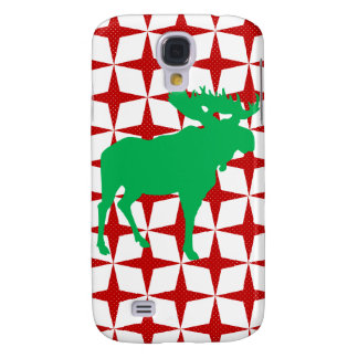 Christmas Moose Galaxy S4 Covers