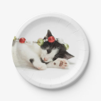 Christmas Morning Paper Plate