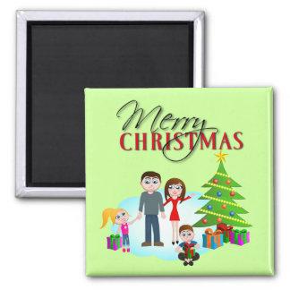 Christmas Morning Refrigerator Fridge Magnet