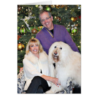 Christmas - Mosley Lucia - Kirby - LabraDoodle Card