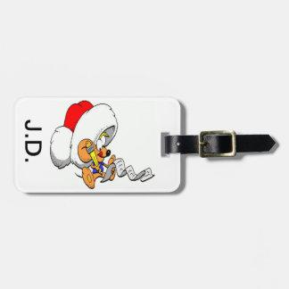 Christmas Mouse Bag Tag