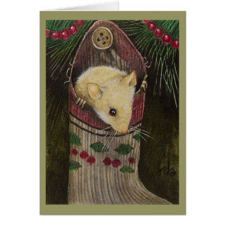 Christmas Mouse Holiday Cards