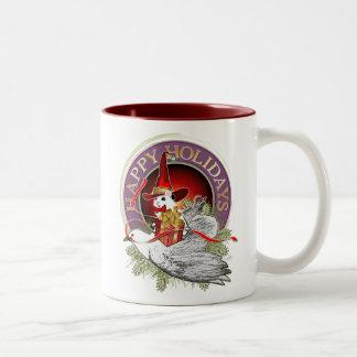 Christmas Mouse Coffee Mugs