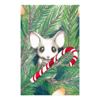 Christmas Mouse Stationery