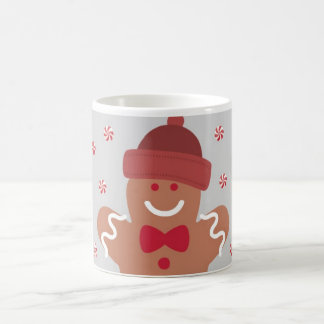 Christmas mug: Gingerbread Man Coffee Mug