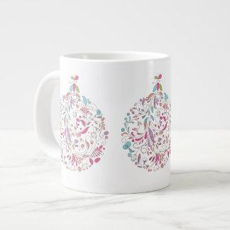 Christmas Mug, Ornament Design Jumbo Mug