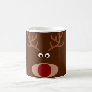Christmas Mug: Rudolf the Red Nose Reindeer Coffee Mug
