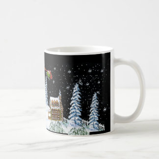 Christmas,mug,Santa,Claus,reindeer,snowman,2 Basic White Mug
