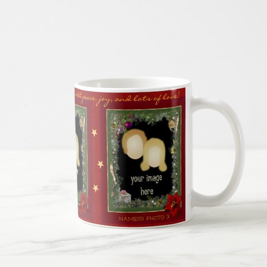 Christmas Mug with 3 of Your Photos