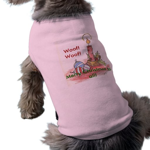 Christmas - multiple products pet tee shirt
