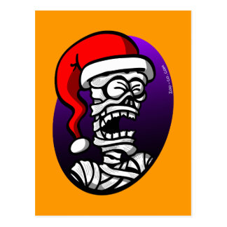 Christmas Mummy Post Card