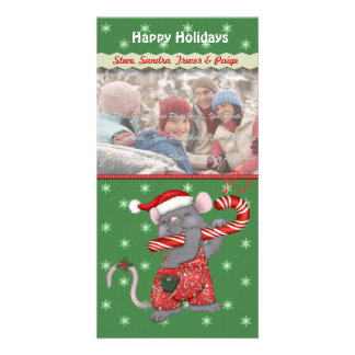 Christmas Music Mouse Photo Cards