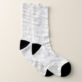 Christmas Music Winter Socks 1