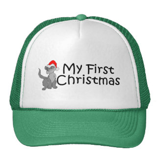 Christmas My First Christmas (Kitty) Trucker Hat