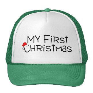 Christmas My First Christmas (Santa Hat)