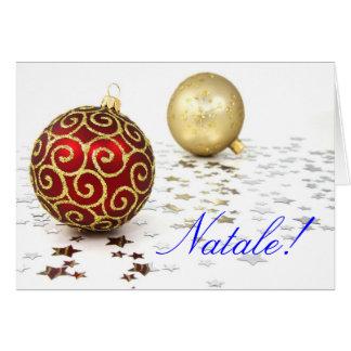Christmas Natale II Card