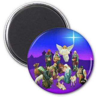 Christmas Nativaty Scene Magnet
