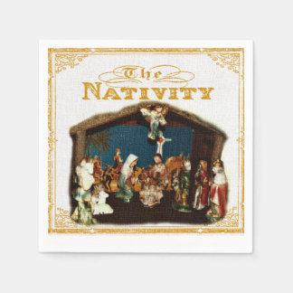 Christmas Nativity Napkins Paper Napkins