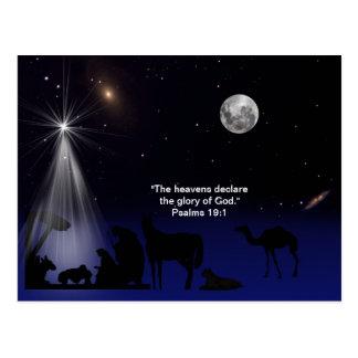 Christmas, Nativity, Postcard