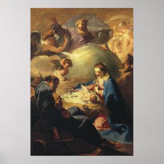 Christmas Nativity Print  by G. Battista