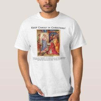 Christmas Nativity Scene Wisemen Tee Shirt