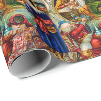 Christmas Nativity Scene Wrapping Paper