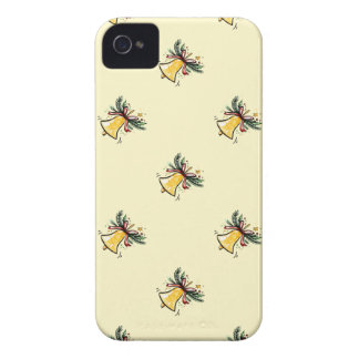 Christmas New Year Gift Yellow Jingle Bell Case-Mate iPhone 4 Case