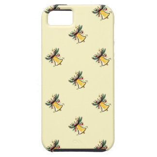 Christmas New Year Gift Yellow Jingle Bell iPhone 5 Cover