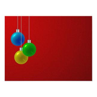 "Christmas / New Year / Holiday Invitation  ~ 6.5"" X 8.75"" Invitation Card"