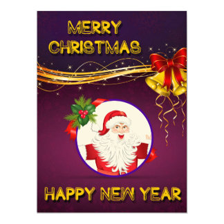Christmas New Year Invitation