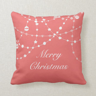 Christmas & New Year Lights Custom Pillow