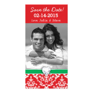 Christmas New Year Save the Date WEdding Picture Card
