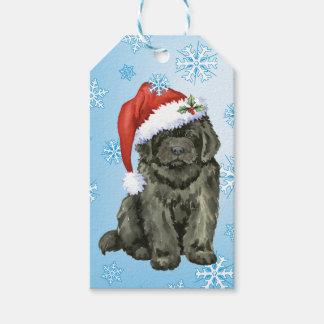 Christmas Newfoundland Gift Tags