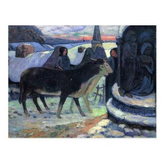 Christmas Night - Paul Gauguin Postcards