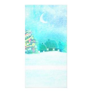 Christmas night Photo Card