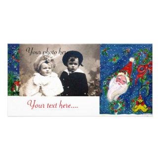 CHRISTMAS NIGHT / SANTA PICTURE CARD