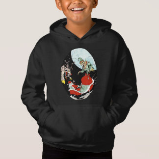 Christmas nightmare Kids' Fleece Pullover Hoodie