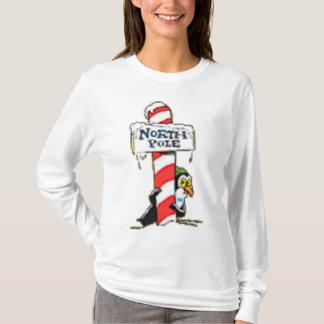 Christmas North Pole Ladies Long Sleeve Top