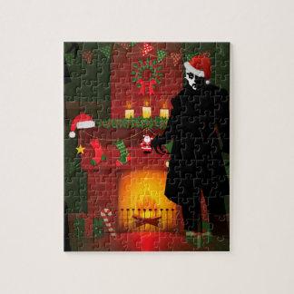 christmas nosferatu jigsaw puzzle