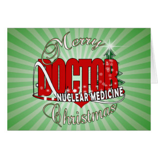 CHRISTMAS NUCLEAR MEDICINE GREETING CARDS