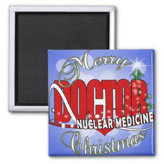 CHRISTMAS NUCLEAR MEDICINE FRIDGE MAGNETS