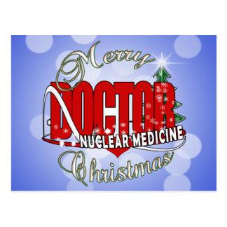 CHRISTMAS NUCLEAR MEDICINE POST CARD