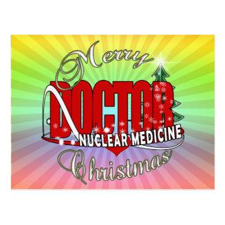 CHRISTMAS NUCLEAR MEDICINE POSTCARD