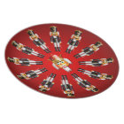 Christmas Nutcracker Army Plate