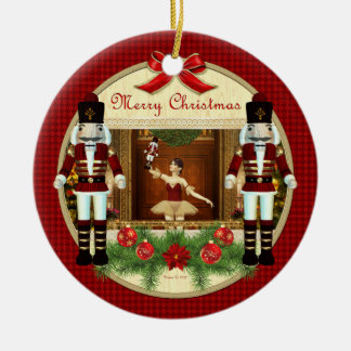 Christmas Nutcracker Ballerina Ornament