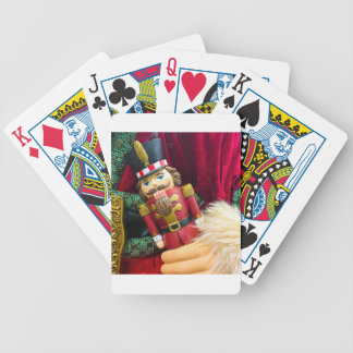 Christmas Nutcracker Bicycle Playing Cards