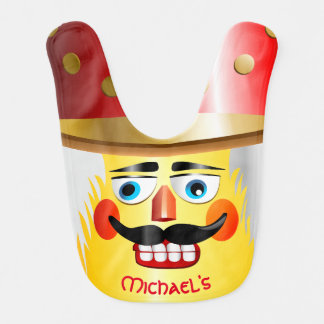 Christmas Nutcracker Toy Soldier Bib